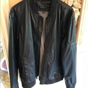 John Varvatos Star USA Men's Coated Bomber Jacket